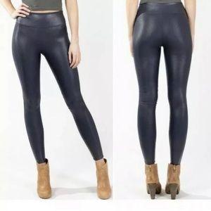Spanx Women Faux Leather Leggings Sz M NWOT